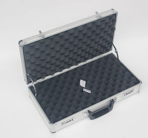 Aluminum Silver Triple Handgun Case and Pistol Case for Carrying Guns
