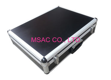 China Two Locks Aluminum Hard Case 3.8MM MDF With Black ABS Panel L 525 X W 415 X H 225mm factory