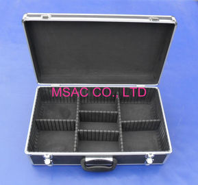 China Detachable Aluminium Storage Box , Hand Tool  Aluminum Hard Case With Foam factory