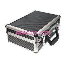 China Silver Aluminum Tool Case 2 Kgs 4mm MDF And ABS Panel L 300 X W 220 X H 100mm factory