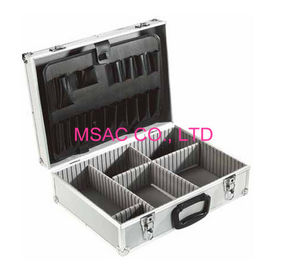 China Custom Aluminum Tool Case 90 Degree Open One Lock For Security factory
