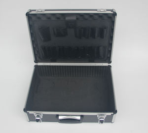 China Black ABS Aluminum Tool Case 460 * 330 * 150mm factory