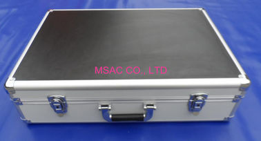 China Musical Instrument Aluminum Carrying Case 5mm MDF And ABS Panel Easy Cleaning factory
