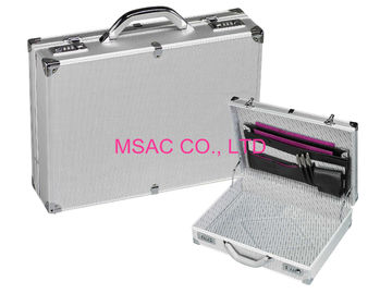 China Business Men ' S Aluminum Attache Case 4mm MDF And ABS Panel 2.3 Kgs 460 X 330 X 150mm factory