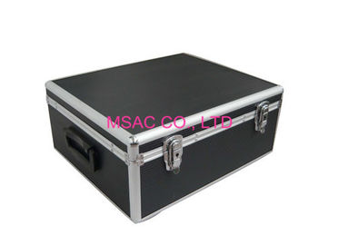 Custom Black Aluminum DVD Storage Case Wear Resistant L 360 X W 220 X H 180mm