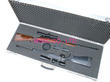 China MS - Gun - 12 Aluminum Gun Case Size L1200 X W250 X H75mm For Carry Rifle factory