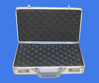 China Size Customized Metal Gun Case , Waterproof Gun Case Easy Carry Fireproof factory