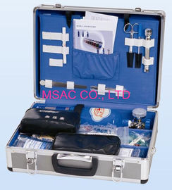 China Portable Medical Metal First Aid Case , Aluminum Doctor Cases For Car factory