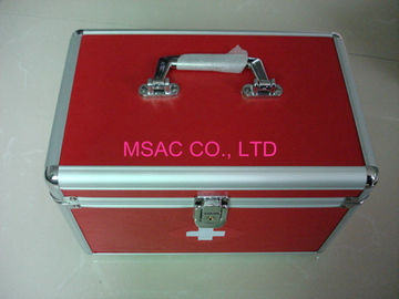 Doctor Metal First Aid Box Multi - Purpose , Light Weight Aluminum Medical Case