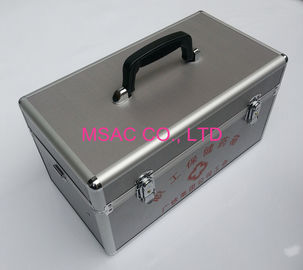 Professional Aluminium First Aid Box 3MM MDF With Silver Diamond ABS Panel