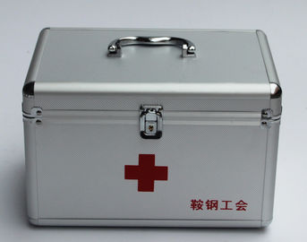 China Doctor Aluminium First Aid Box 240 * 135 * 150mm factory