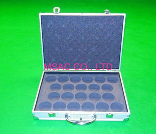 China Professional Aluminum Cue Case / Aluminium Snooker Cue Cases With Lock factory