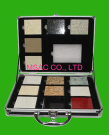 Popular Aluminum Display Box / Marble Display Case For Packing Stones