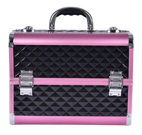 Customized Professional Middle Size Aluminium Beauty Case Multi Color Waterproof