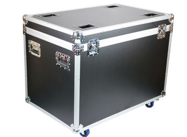 Reinforce Ball Corner Aluminum Flight Transport Case With Wheels 8mm Thickness Plywood Panel