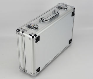 Diamond ABS Panel Silver Aluminum Tool Storage Case L350 X W250 X H150mm