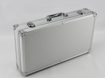 Light Weight Aluminum Hard Case With Sharp Corner Design Size 300 * 180 * 80mm