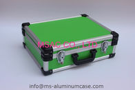 Blue Aluminum Tool Case With Dividers And Tool Panel For Carrying Tools